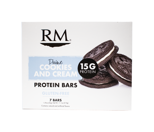 Protein Bar, Divine Cookies & Cream - 1 box (min. order of 3 boxes)