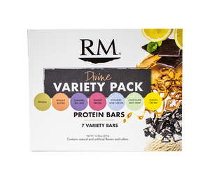 Protein Bar, Divine Variety Pack - 1 box (min. order of 3 boxes)