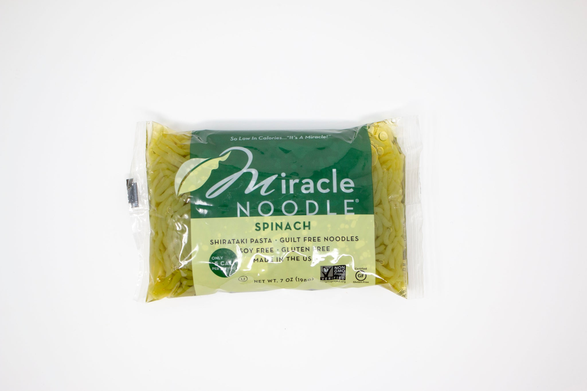 Miracle Noodle, Spinach Angel Hair - 6 pack