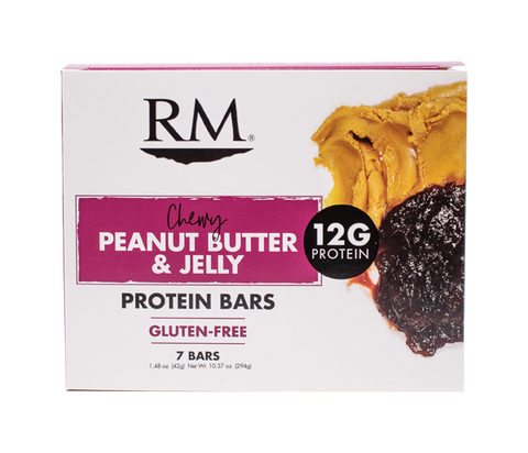 Protein Bar, Chewy Peanut Butter & Jelly - 1 box (min. order of 3 boxes)
