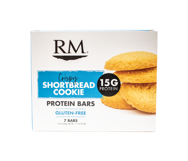 Protein Bar, Crispy Shortbread Cookie - 1 box (min. order of 3 boxes)