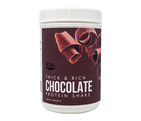 RM3® Approved Protein Shake, Thick & Rich Chocolate - 28 servings