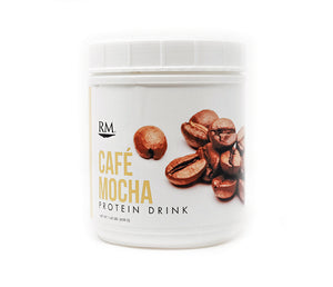 RM3® Approved Protein Drink, Cafe Mocha - 28 servings