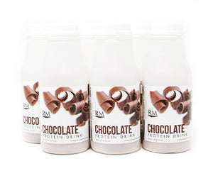 RM3® Approved Protein Drink, Chocolate - 6 pack