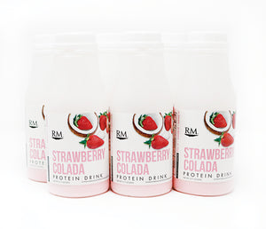 RM3® Approved Protein Drink, Strawberry Colada - 6 pack