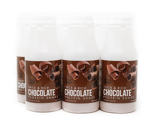 RM3® Approved Protein Shake, Thick & Rich Chocolate - 6 pack
