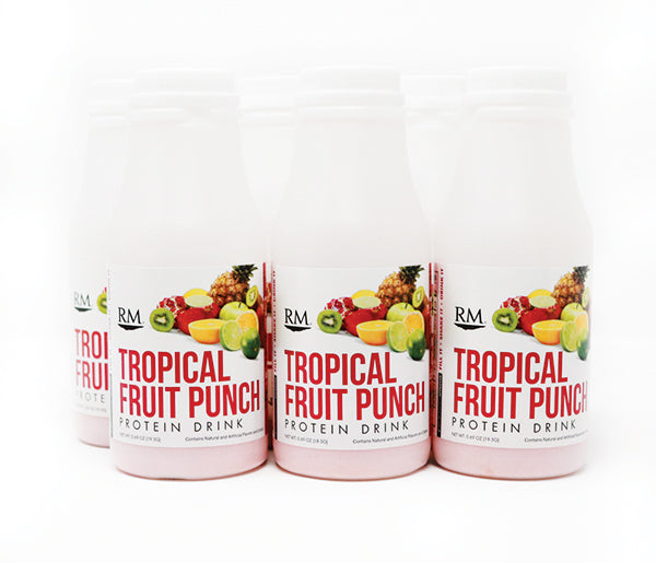 RM3® Approved Protein Drink, Tropical Fruit Punch - 6 pack