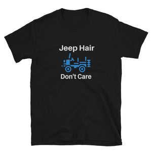 """Jeep Hair Don't Care"" Basic T-Shirt"