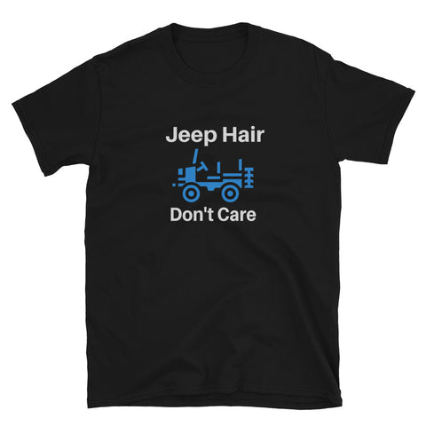 """Jeep Hair Don't Care"" Cotton T-Shirt"