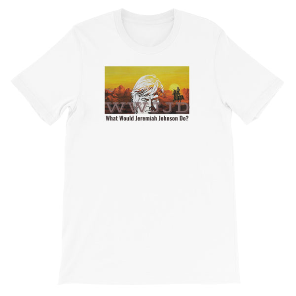 """WWJJD Jeremiah Johnson"" Blended T-shirt"