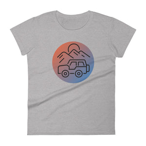 """Road Trip"" Fashion Fit T-shirt"