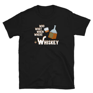 """Whiskey"" Cotton T-Shirt"