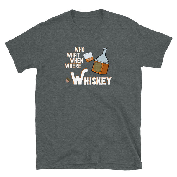 """Whiskey"" Basic T-Shirt"