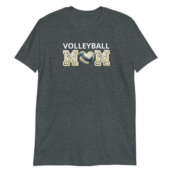 """Volleyball 🖤 Mom"" Basic T-Shirt"