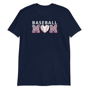 """Baseball Mom"" Basic T-Shirt"