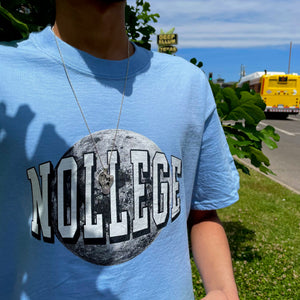 Nollege Earth Day Tee Blue