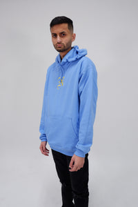 Nollege Lightweight Basic Hoodie University Blue