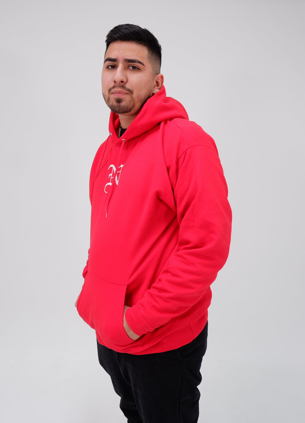 Nollege Lightweight Basic Hoodie University Red