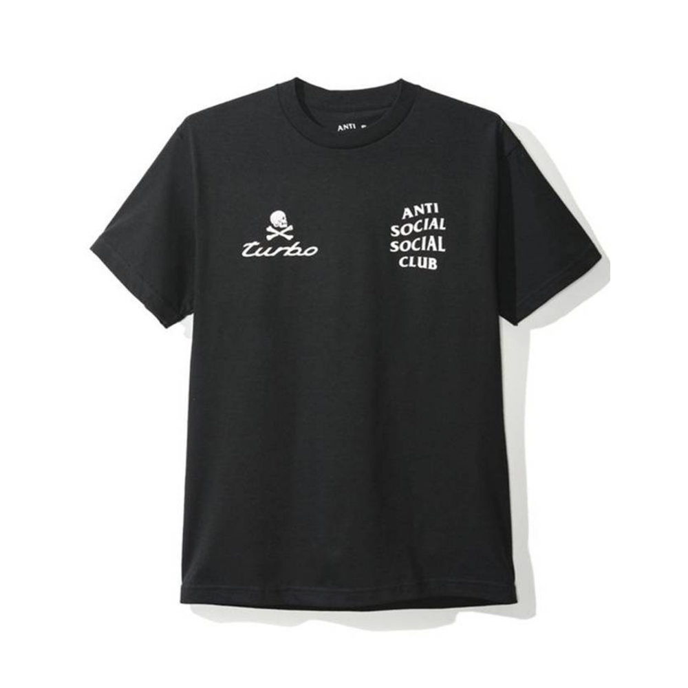 Anti Social Social Club 911 Tee Black