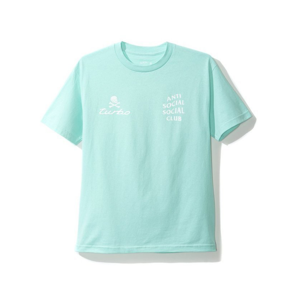 Anti Social Social Club 911 Tee Teal