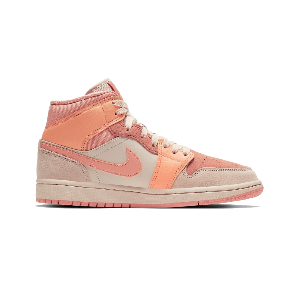 Jordan 1 Mid Atomic Orange Women's