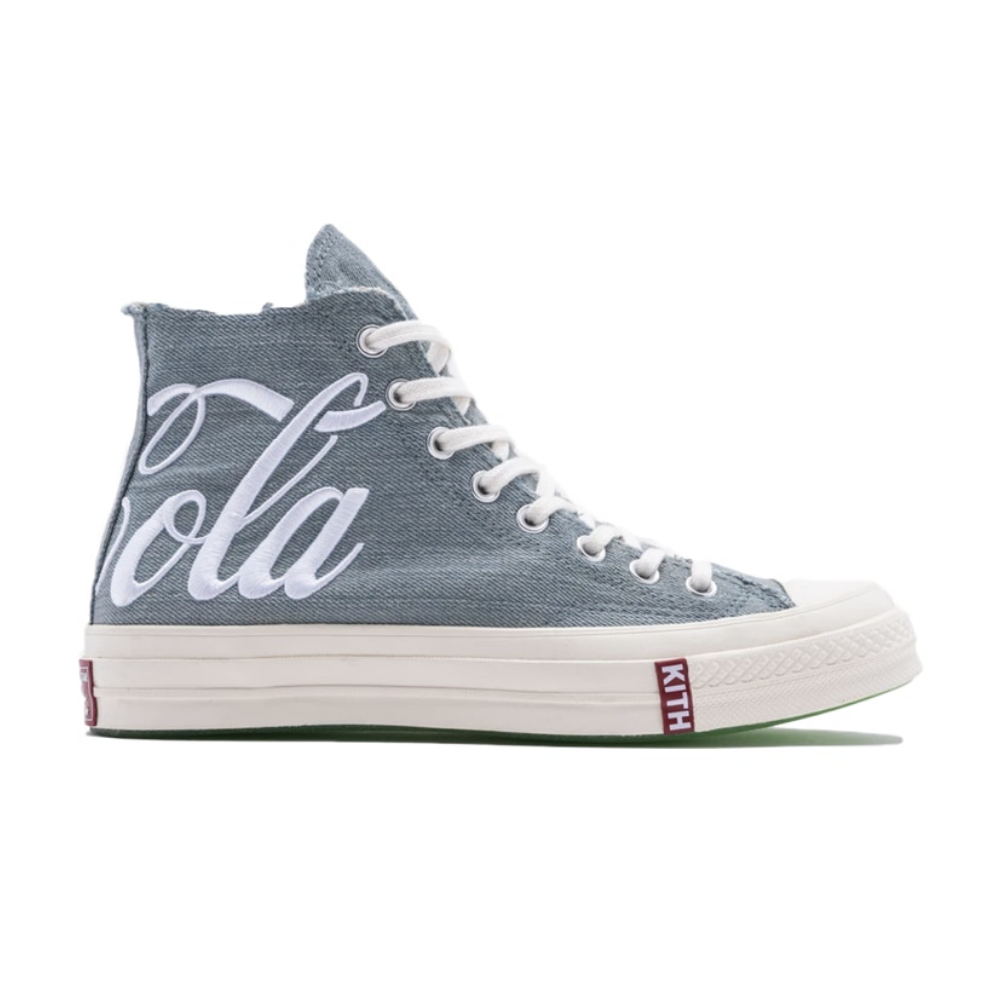 Converse Chuck Taylor All-Star 70s Hi Kith Coca-Cola Denim