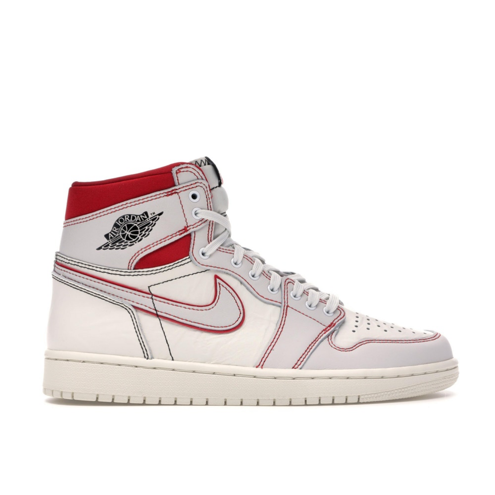 Jordan 1 Retro High Phantom Gym Red
