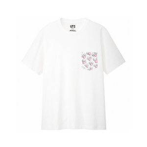 Uniqlo Kaws BFF Pocket Tee White