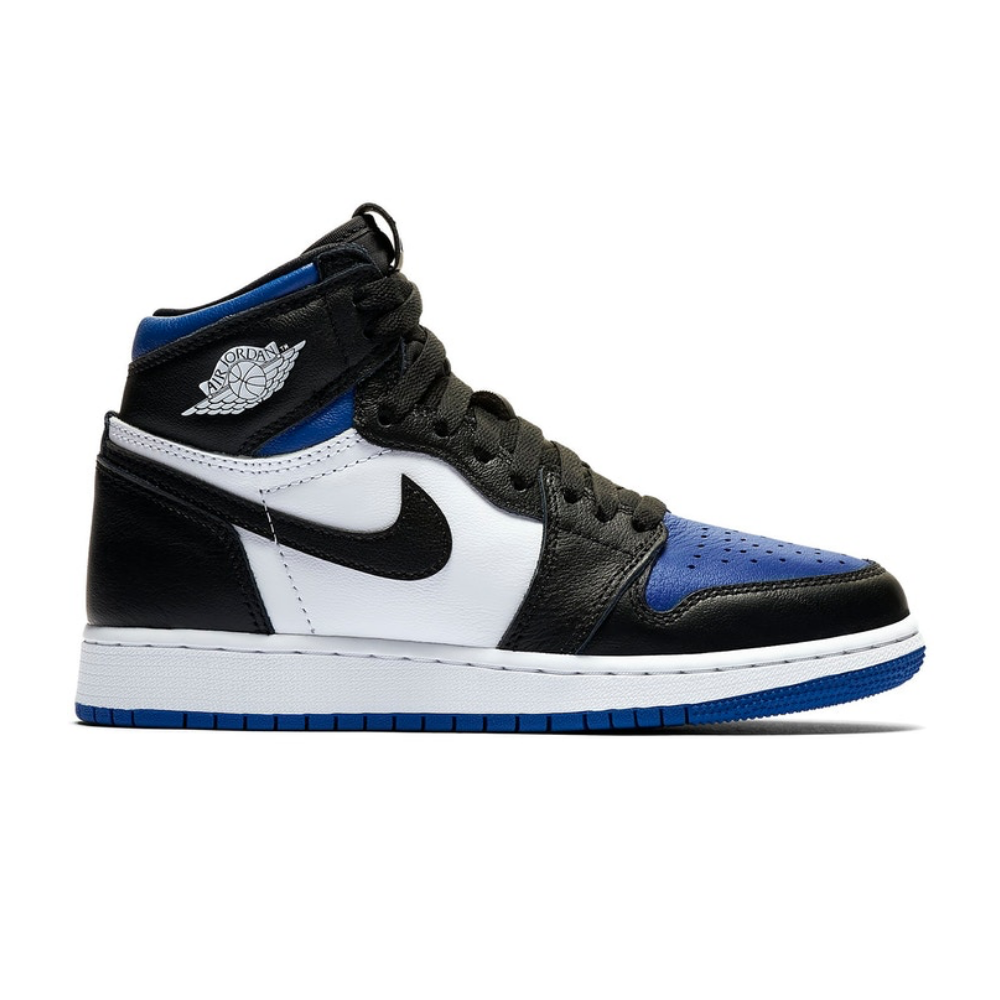 Jordan 1 Retro High Royal Toe Grade School