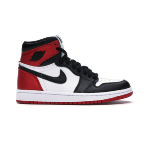Jordan 1 Retro High Satin Black Toe (Womens)