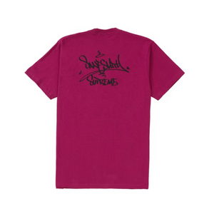 Supreme Bridge Tee Magenta