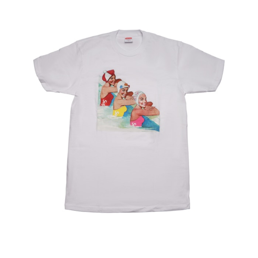 Supreme Swimmers Tee White