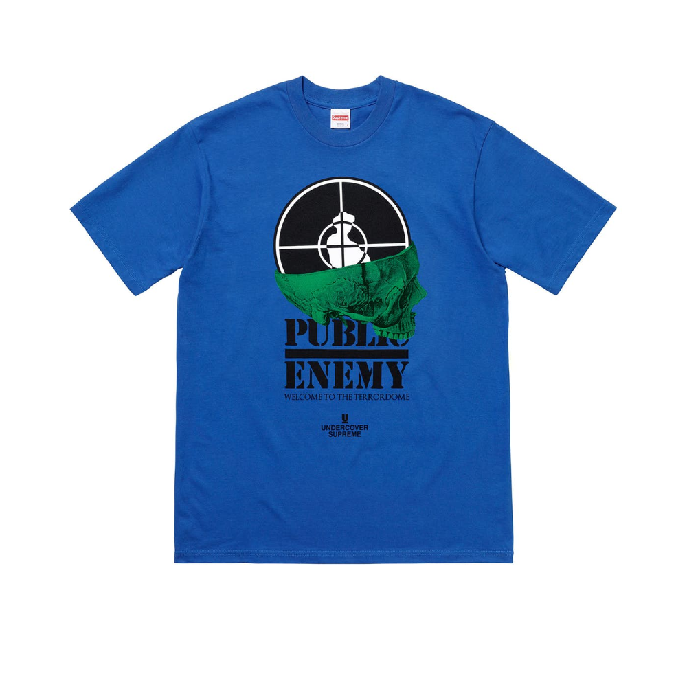 Supreme Undercover/Public Enemy Terrordome Tee Royal