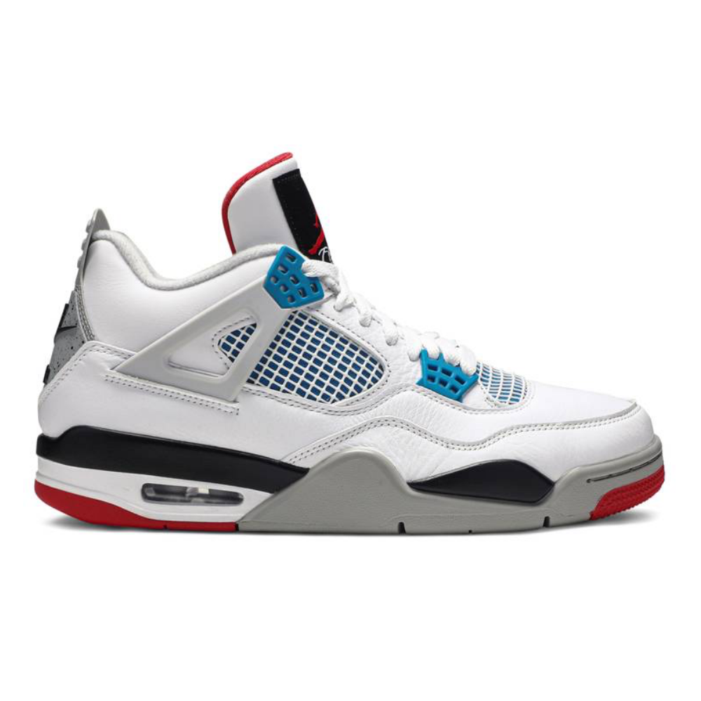 Preowned Jordan 4 Retro What The