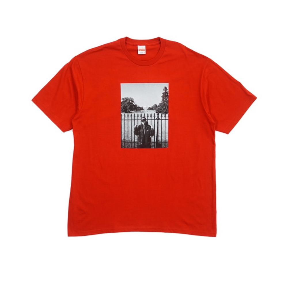 Supreme Undercover/Public Enemy White House Tee Red