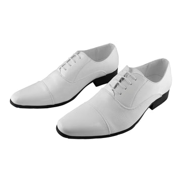 Men's Dress Shoes White