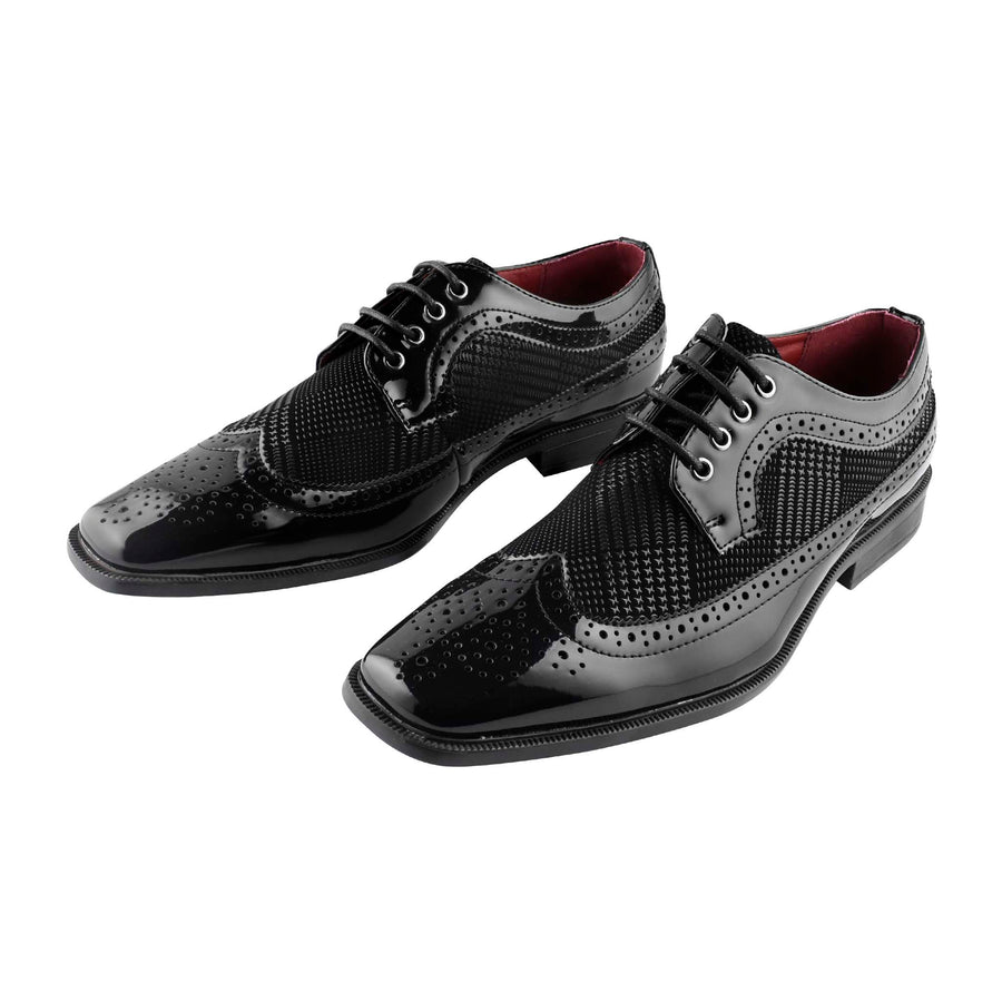 Men's Dress Lace-up Shoes Black