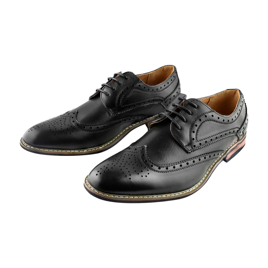 Men's Casual Lace-up Shoes Black