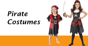 Girl's Pirate Costumes