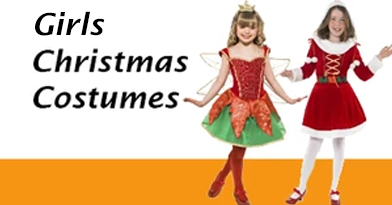 Girl's Christmas Costumes