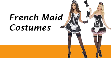 Women's French Maid Costumes