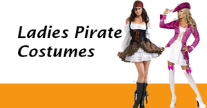 Women's Pirate Costumes