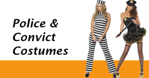 Women's Police and Convict Costumes