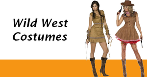 Women's Wild West Costumes