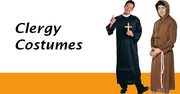 Men's Vicar Costumes