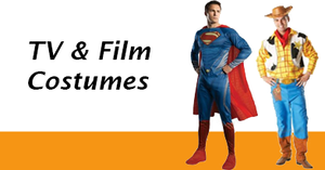 Men's TV and Film Costumes