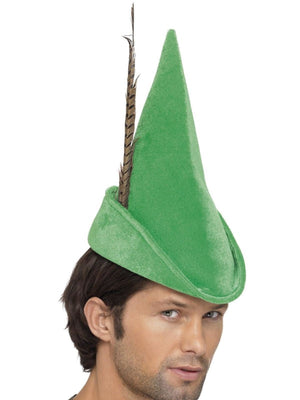 Deluxe Green Robin Hood/ Peter pan Hat
