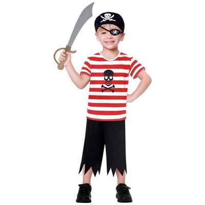 Buccaneer Boy's Fancy Dress Costume