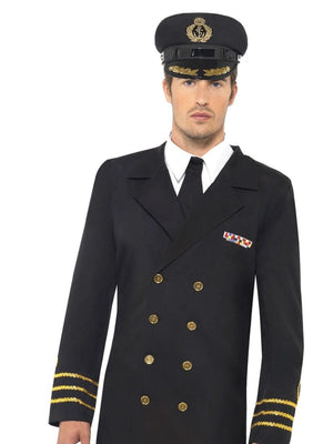 Navy Officer Fancy Dress Costume