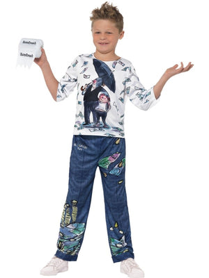 David Walliams Deluxe Billionaire Boy's Fancy Dress Costume